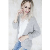 SPECIAL KNIT SOFT GREY - BERNADETTE