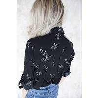 BIRDY BLACK - BLOUSE