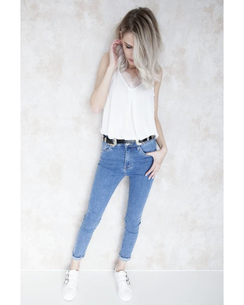 PUSH UP SKINNY - JEANS