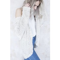 CLAIR KNIT CAFE - GILET