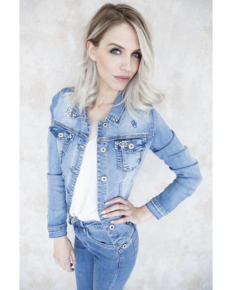 LIZA DIAMONDS BLUE - JACKET