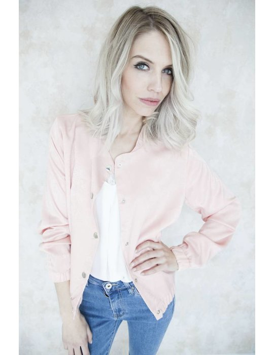 SILKY BOMBER PINK