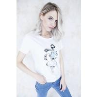 FASHION GIRL WHITE - T SHIRT