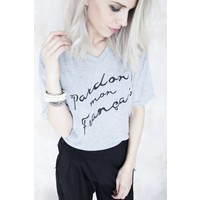 PARDON GREY - T-SHIRT