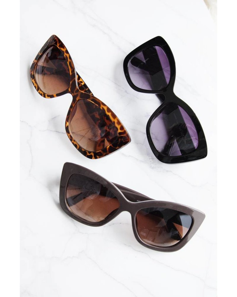 YVONNE TAUPE - SUNGLASSES