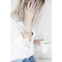 AUDREY STATEMENT GOLD - ARMBAND
