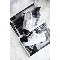 COCO PLATFORM WHITE - SNEAKERS