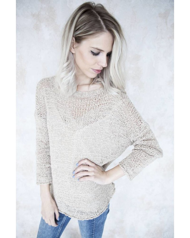 SUMMER KNIT SCOOP CAFE - TRUI