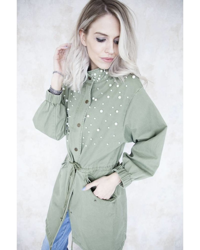 NO RAIN JUST PEARLS - JACKET
