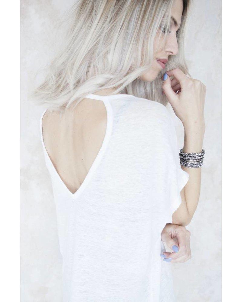 BASIC MANON WHITE - T-SHIRT