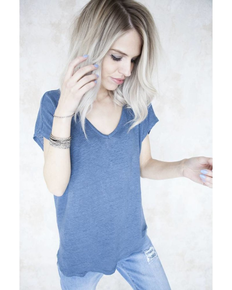 BASIC MANON BLUE - T-SHIRT