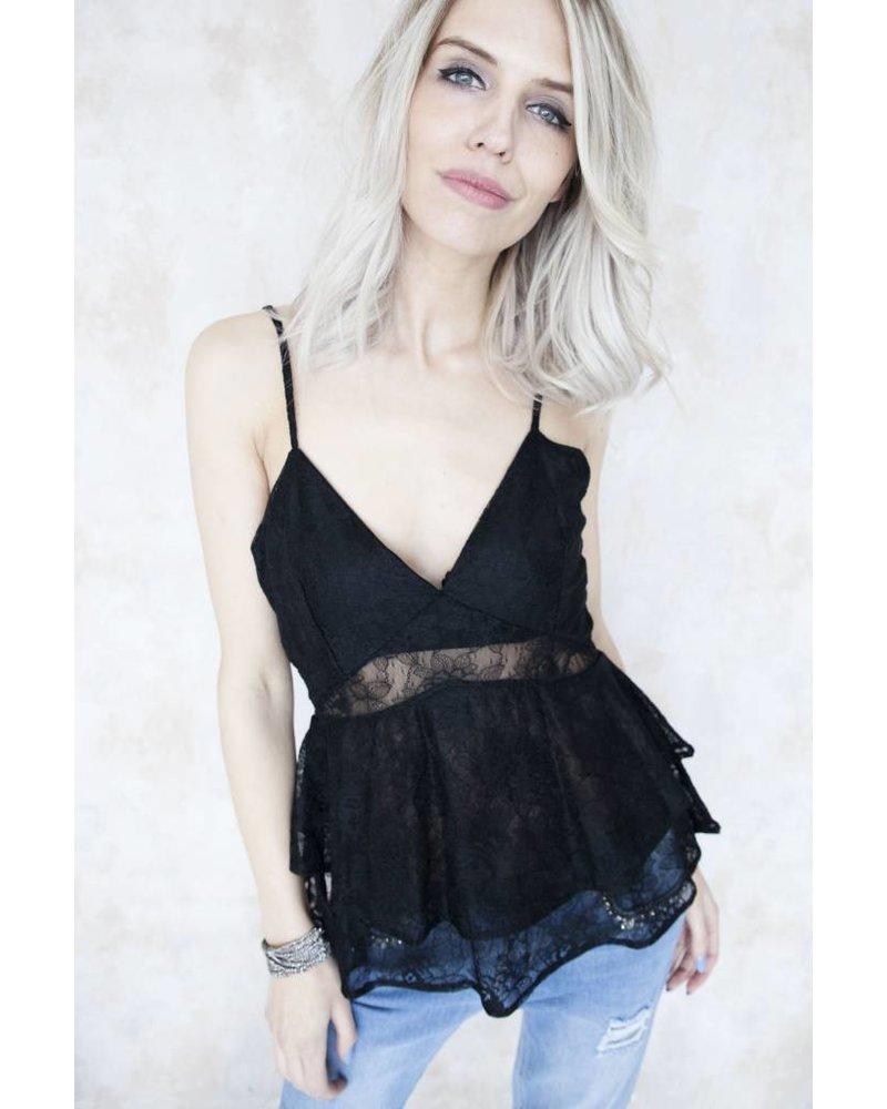 FAY BLACK - TOP