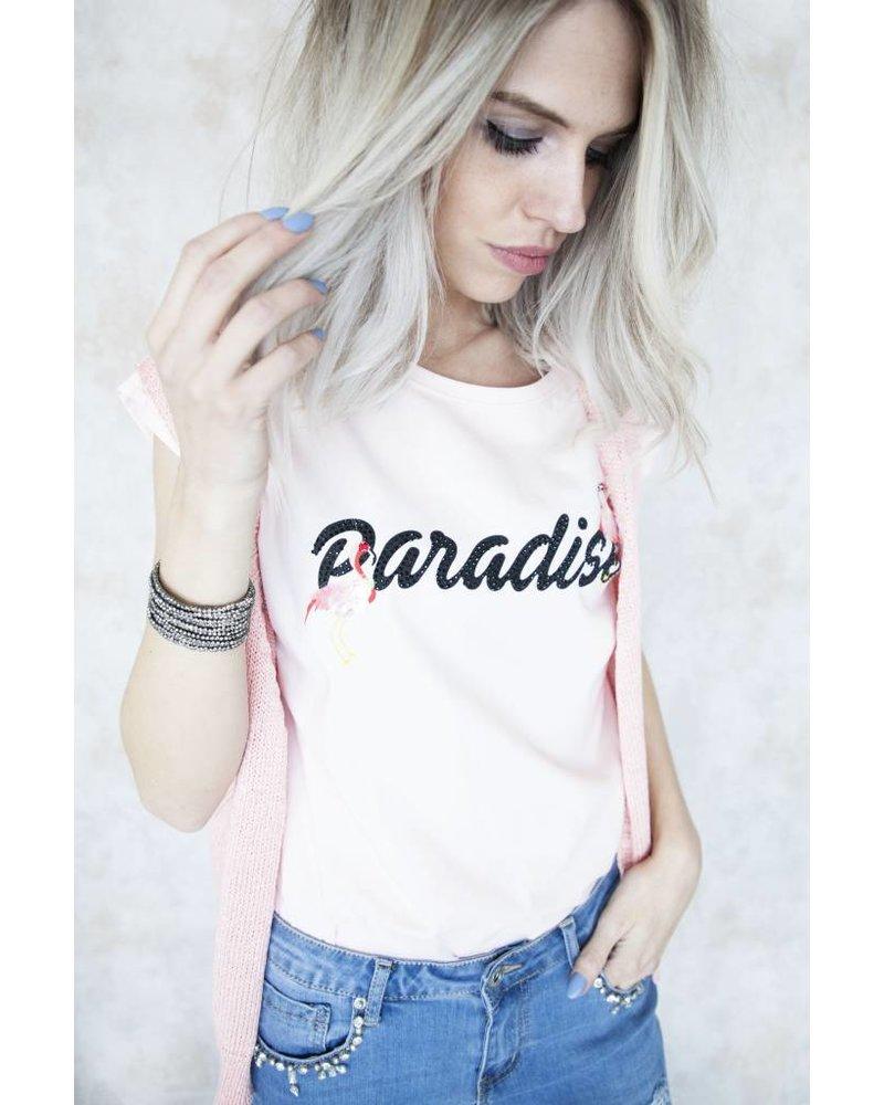 PARADISE PINK - T-SHIRT