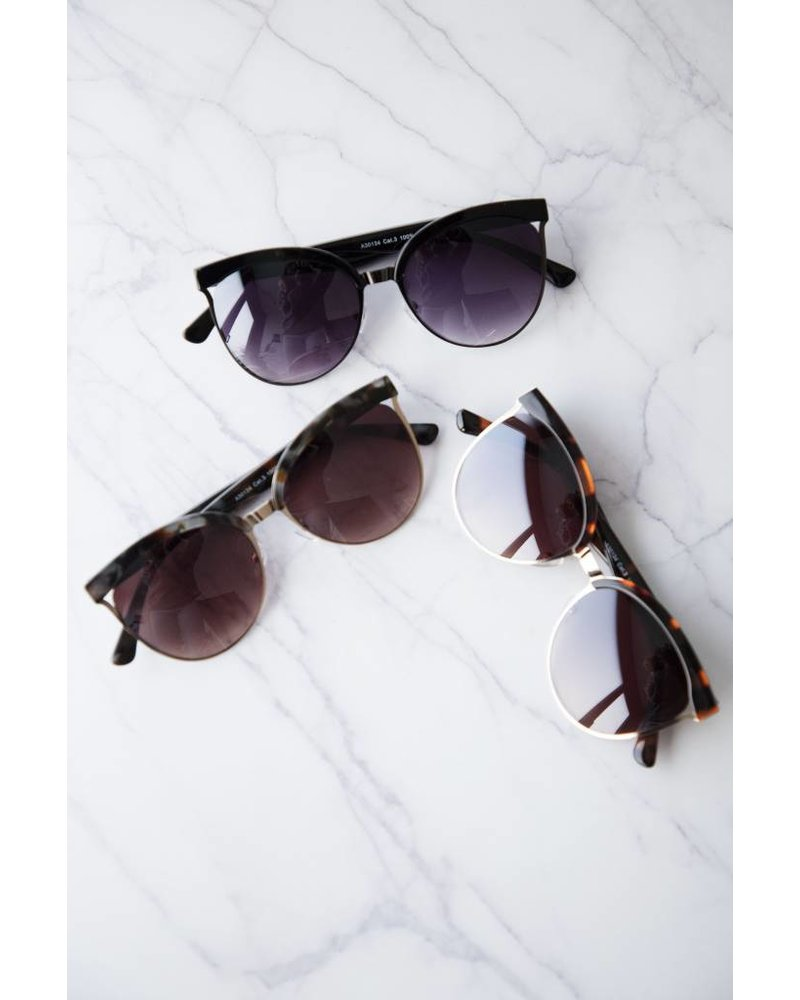 FLAIR BLACK - SUNGLASSES
