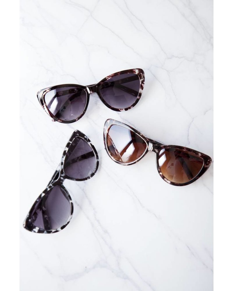 MARCY LEO BROWN - SUNGLASSES