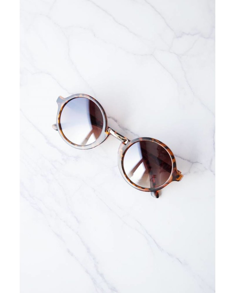 LILY BLACK LEO BROWN - SUNGLASSES