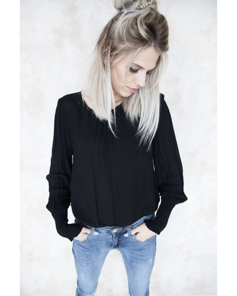 DREAMY SAM BLACK - BLOUSE