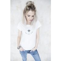 ROCK STAR WHITE - T- SHIRT