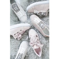 OOH MY PEARLS BEIGE - SNEAKERS