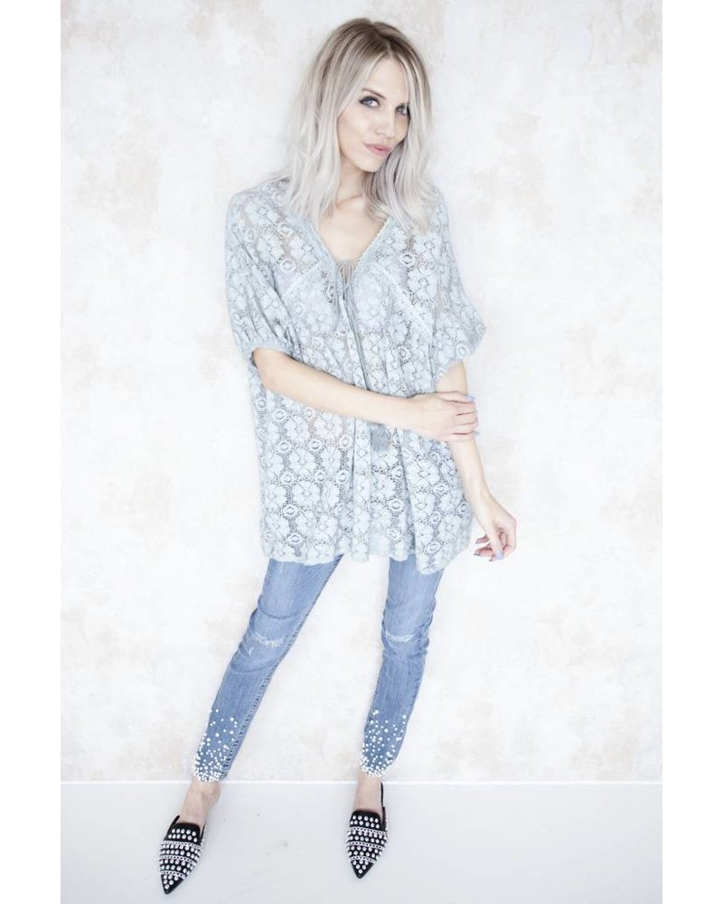 SUMMER LOUIS SOFT GREY - TUNIEK