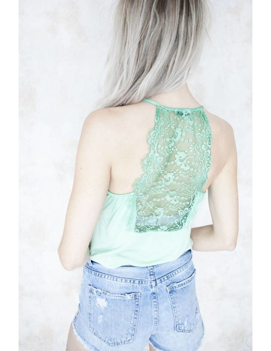 LIZZY LACE GREEN