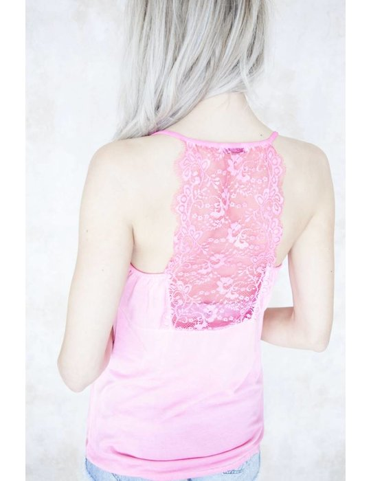 LIZZY LACE HOT PINK