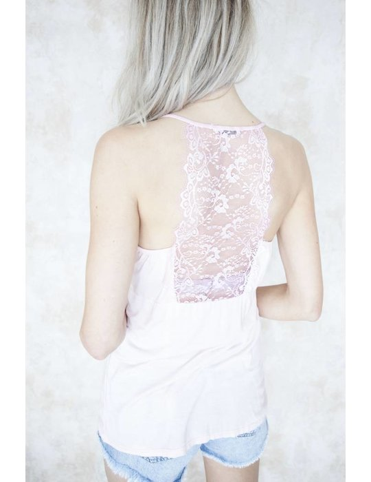 LIZZY LACE SOFT PINK
