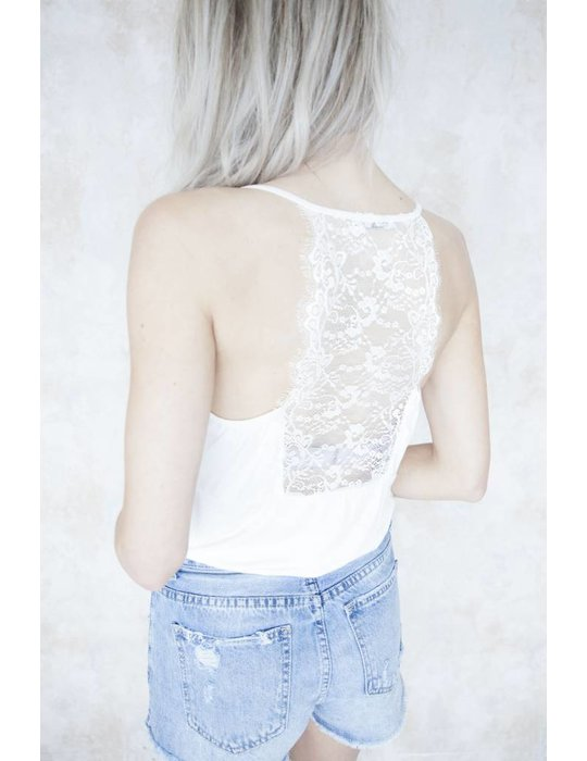 LIZZY LACE CREAMY WHITE