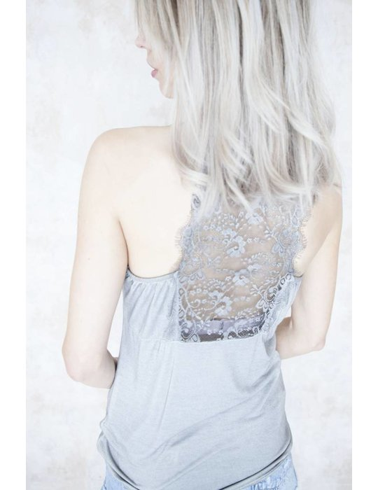 LIZZY LACE STONE GREY