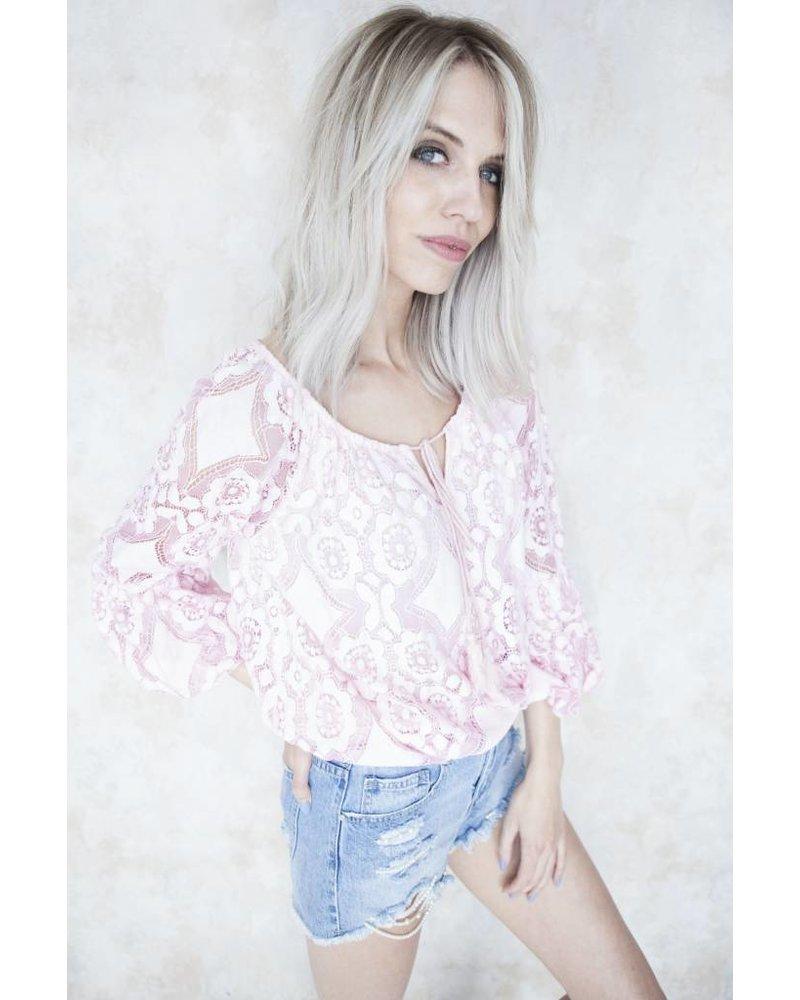 SUMMER EMMA PINK - BLOUSE