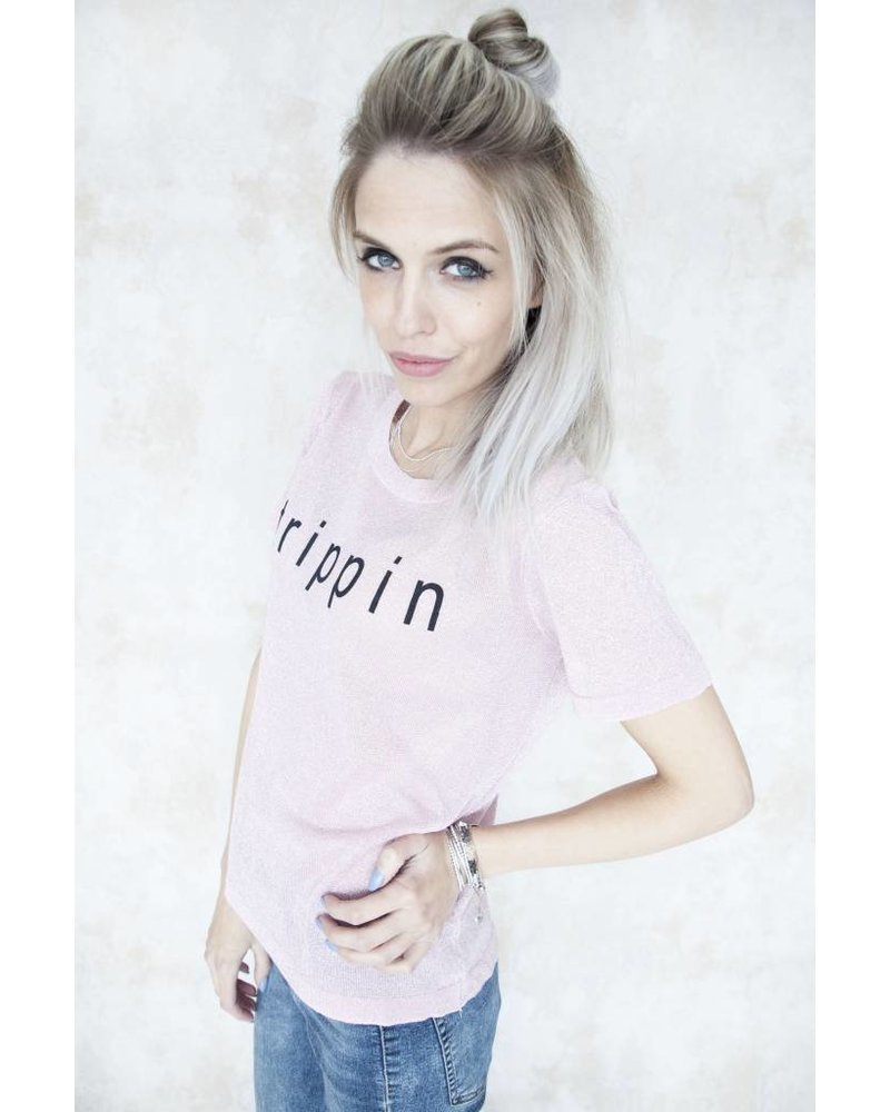 TRIPPIN PINK - T-SHIRT