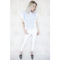 WHITE PEARLS - JEANS