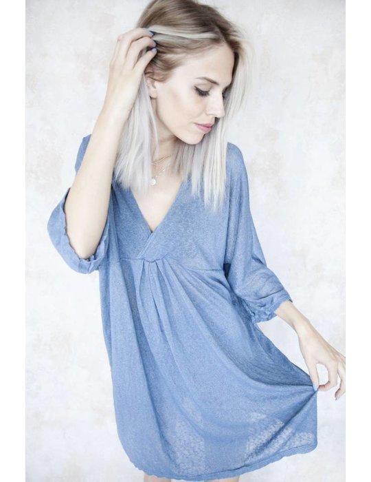 LONG MANON BLUE