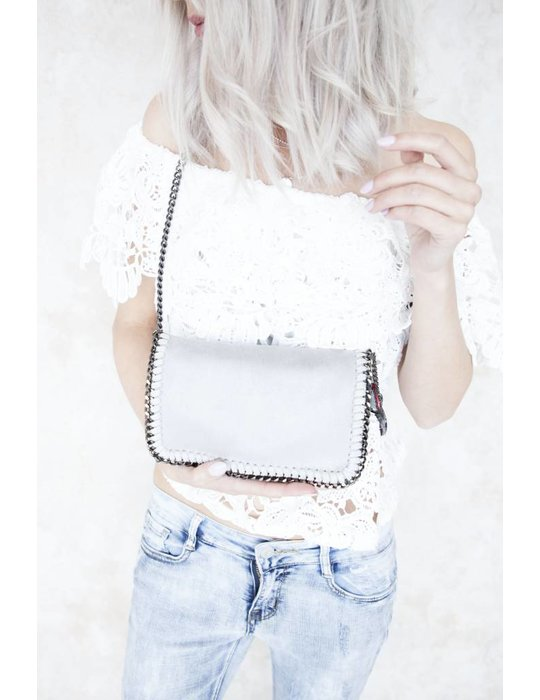 CHAIN BAG MINI GREY