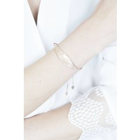 FEATHER GOLD - ARMBAND
