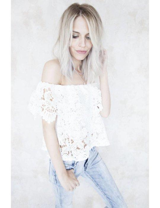 JUNA LACE WHITE