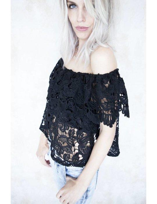 JUNA LACE BLACK