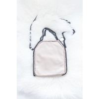 CHAIN BAG SMALL OLD PINK - HANDTAS
