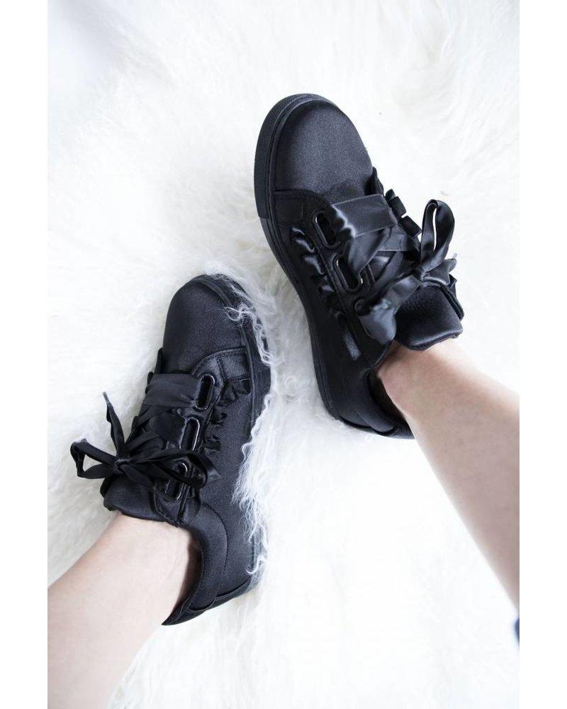 BEA SILK BLACK - SNEAKERS