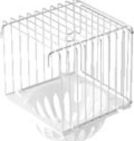 S.T.a. Soluzioni Nestkast Metaal +Plastic nest wit