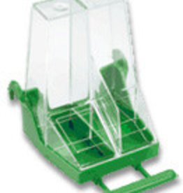 "S.T.a. Soluzioni Bird Feeder ""Self-Service"" white/green"
