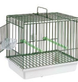 "S.T.a. Soluzioni Plastic birdcarrier ""Cincia"" 17,5x24,5x22 cm green"