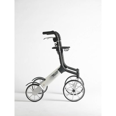 TrustCare Let's go out rollator - Zwart/zilver