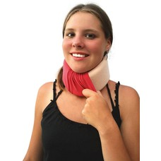 Cameleone  Overtrek halskraag - Rood framboos