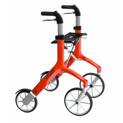 TrustCare Let's Fly rollator - Rood