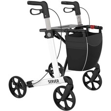 Rehasense Server rollator - Wit