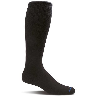 Sockwell Circulator Navy solid - Heren - Zwart