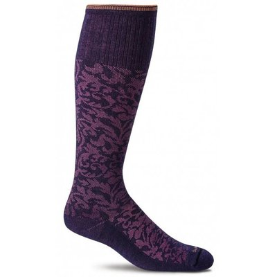 Sockwell Damask - Dames - Paars