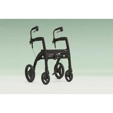 Rollz Rollz Motion rollator/rolstoel - Zwart (matt black)