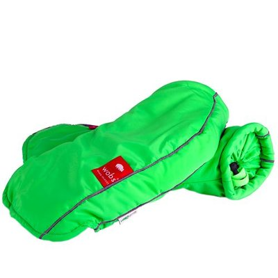 Wobs Rollator/fiets handschoenen - Fluor Groen